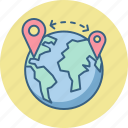 gps, location, world, country, map, navigation