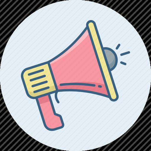 announce, announcement, broadcast, sound, volume icon