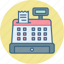 bill, billing, cash, counter, invoice, machine, receipt icon