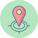 find, locate, location, country, gps, map, us icon