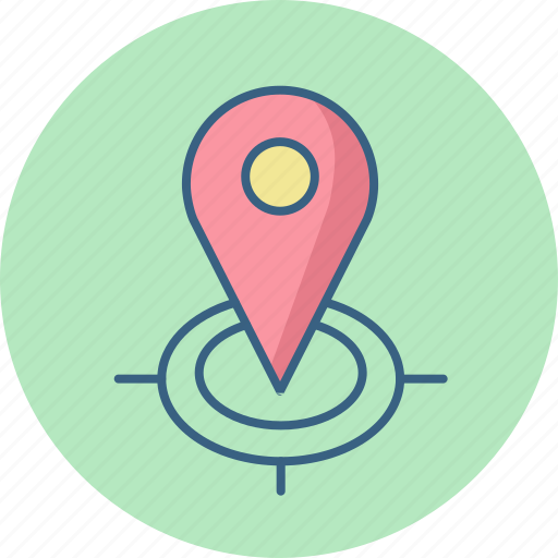 country, find, gps, locate, location, map, us icon
