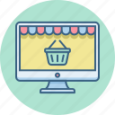 cart, internet, online, shop, shopping, web, website icon