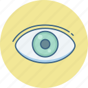 eye, eye checkup, eye test, search, view, vision icon