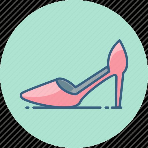 fashion, footwear, heel, high, sandal, shoe, woman icon