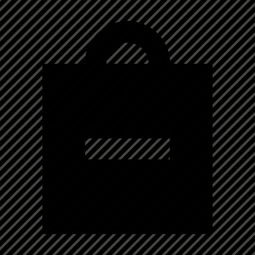 bag, commerce, market, remove, shop, supermarket icon