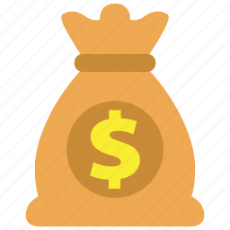bag, business, cash, dollar, money, profit, turnover icon
