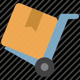 deliver, delivery, order, package, transport, transportation, warehouse icon