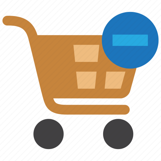 buy, cart, delete, order, remove, shop, shopping icon