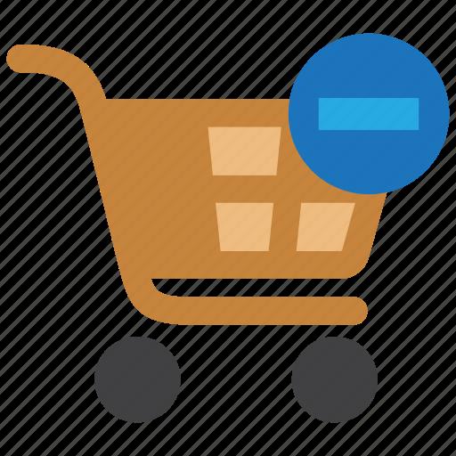 buy, cart, delete, order, remove, shop, shopping icon