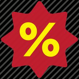 bargain, label, off, percent, sale, sale off, tag icon