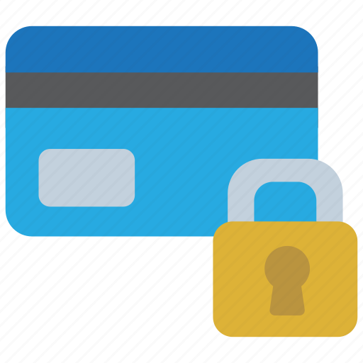 credit, debit, finance, money, payment, secure, security icon
