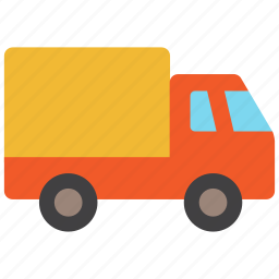 deliver, delivery, shipment, shipping, transport, truck, vehicle icon