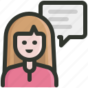 customer, feedback, support icon