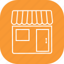 commerce, front, shop, store icon