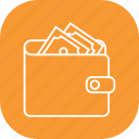 save money, savings, wallet icon