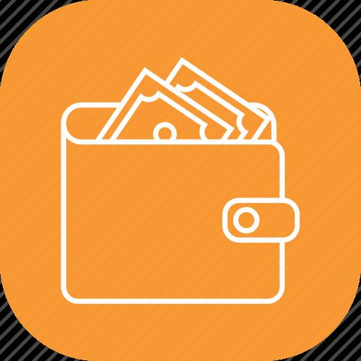 save money, savings, wallet icon