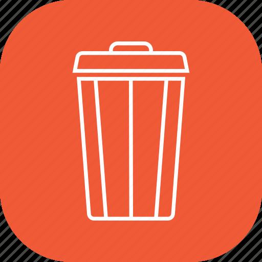 delete, dustbin, empty, recycle, recycling, remove icon