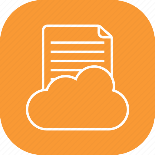cloud, data, file, forecast, network, storage, weather icon