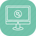 click, computer, display, imac, mac, monitor icon