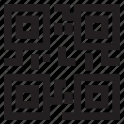 code, qr, qr code, shopping icon