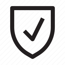 safety, shield, shopping icon