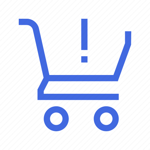 action, cart, notification, shopping icon
