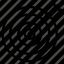 focus, goal, seo, target icon