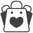 favorite, shopping, bag, basket, buy, favor, like