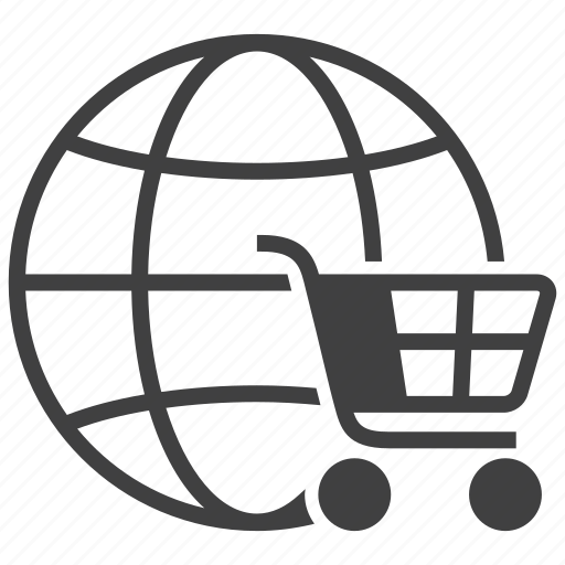 buy, cart, global, online, order, shop, shopping icon