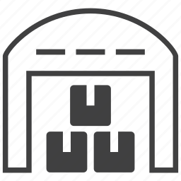 building, goods, package, product, storage, store, warehouse icon