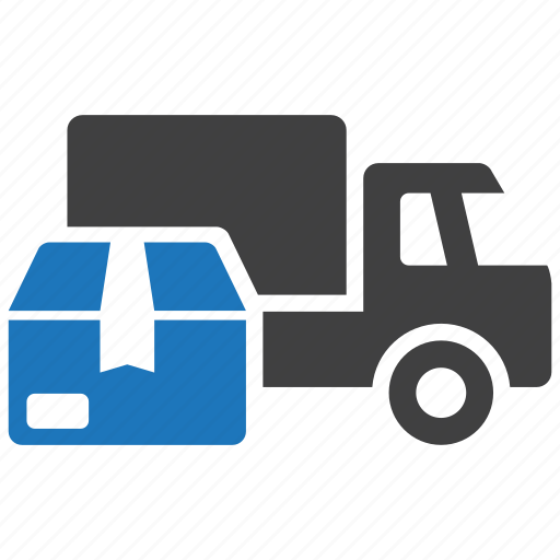 cargo, delivery, goods, shipping, transport, truck, van icon