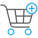 add, buy, cart, plus, shop, shopping, to icon