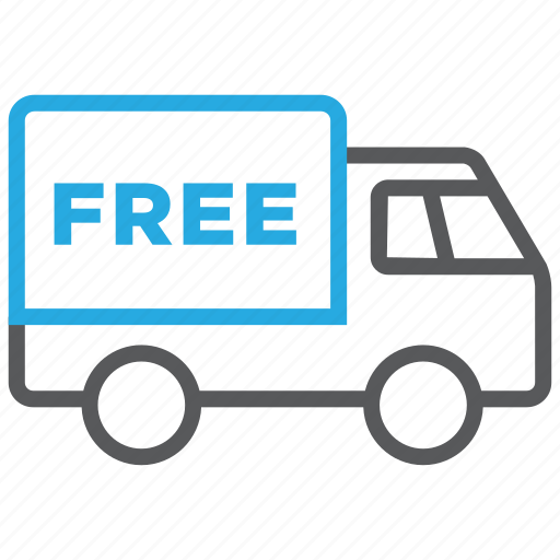 delivery, free, shipment, shipping, transport, truck, vehicle icon