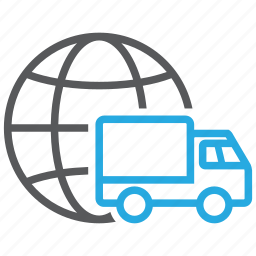 deliver, delivery, global, shipment, shipping, transport, transportation icon