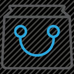 bag, basket, buy, cart, purchase, shop, shopping icon