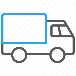 delivery, shipping, transport, transportation, transporter, truck, vehicle icon