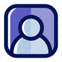 account, avatar, commerce, ecommerce, interface, profile, user icon