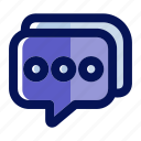 chat, commerce, communication, ecommerce, email, message, talk icon