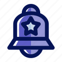alarm, alert, bell, commerce, ecommerce, notification, shopping icon
