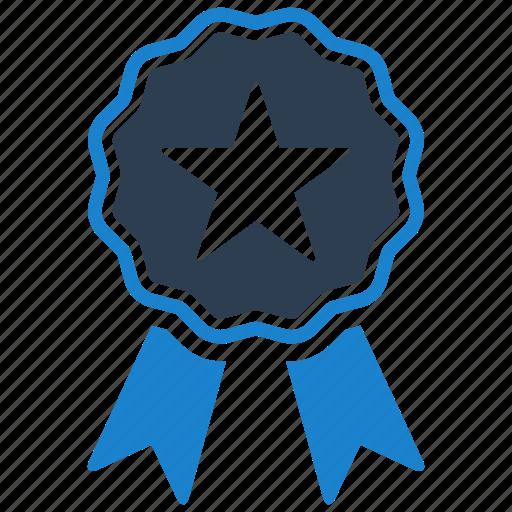 achievement, award, ribbon icon