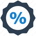 discount, label, percent, percentage, sticker icon