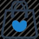 bag, favorite, favourite, shopping icon