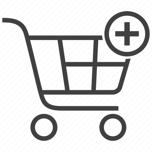 add, add to cart, basket, cart, plus, shop, shopping icon