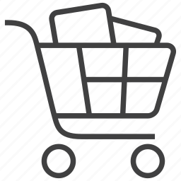 bag, basket, buy, cart, purchase, shop, shopping icon