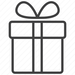 box, christmas, gift, goods, package, present, shopping icon
