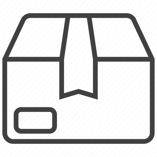box, delivery, gift, package, product, store, warehouse icon
