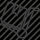 deliver, delivery, package, transport, transportation, transporter, warehouse icon
