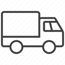 car, delivery, shipment, shipping, transportation, truck, vehicle icon