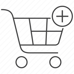 add, basket, buy, cart, ecommerce, plus, to icon