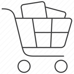 basket, buy, cart, ecommerce, goods, online, shop icon